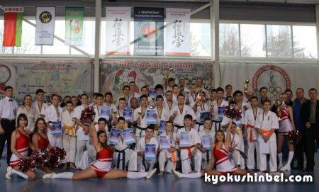 Состоялся первый официальный турнир Белорусской ассоциации кёкусинкай