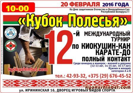 20 ФЕВРАЛЯ 2015 ГОДА- КУБОК ПОЛЕСЬЯ!