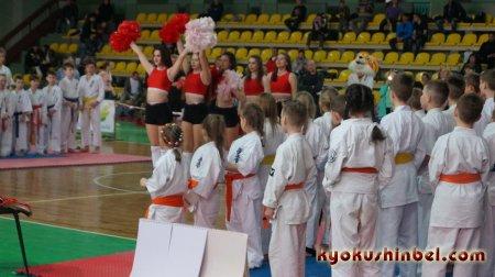 Международный детский турнир среди детей и юниоров 6 - 13 лет «Киокушин - дружба без границ» прошел в Гомеле в минувшую субботу.