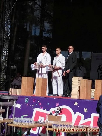 Открытый чемпионат Белорусской ассоциации Кёкусинкай по разбиванию досок (тамэсивари)