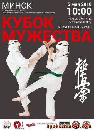 Открытое первенство по кёкусинкай каратэ «Кубок Мужества»