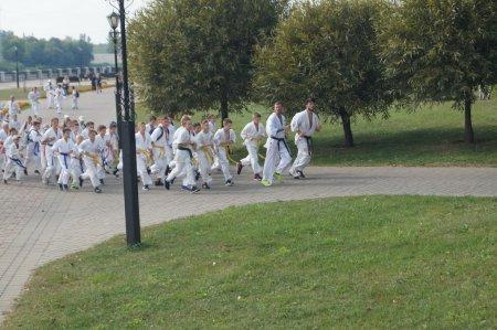 Показательные забег и тренировка на празднике Дня Города - 15 сентября