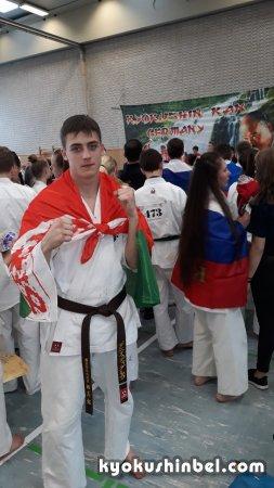 Спортсмены из Беларуси выступили во 2-м первенстве Европы по киокусинкай карате KWU