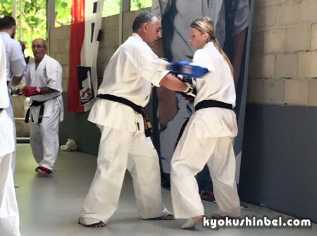 Екатерина Юшкевич о Kyokushin Summer Camp Barcelona 2019