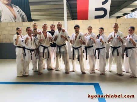 Екатерина Юшкевич о Kyokushin Summer Camp Barcelona 2019