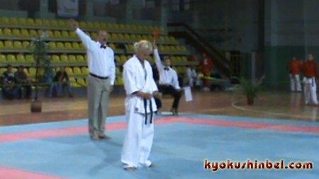 Бой Натальи Селюковой BLR и Станиславы Бойчевой BGR на Кубке Гомеля 2010