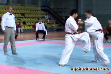 Бой Александра Команова с Сайпудином Джаватхановым Кубок Гомеля 2010